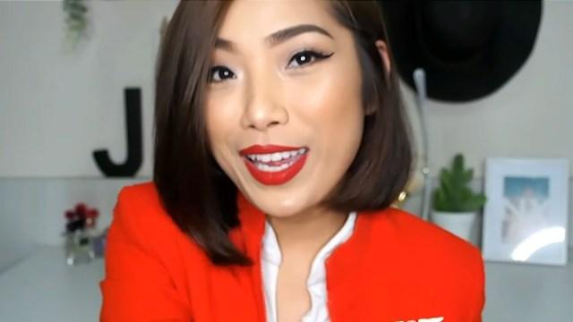 flight attendant long-lasting makeup routine