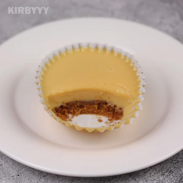 Kirbyyy's Graham Flan Cupcakes Recipe