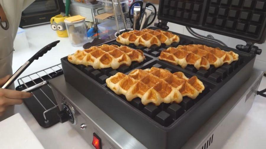 South Korea's food trend, croiffe