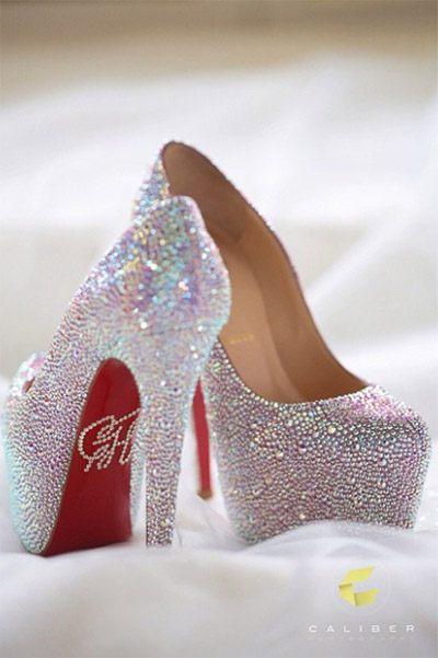 13 Pretty Wedding Shoes That Celebrity Brides Wore
