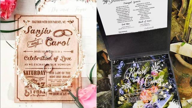Wedding Invitation Designs Plus Etiquette To Follow