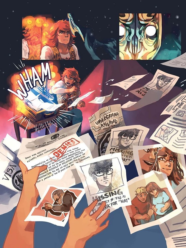 Pinoy Graphic Novel Doorkeeper Is Available Online for Free