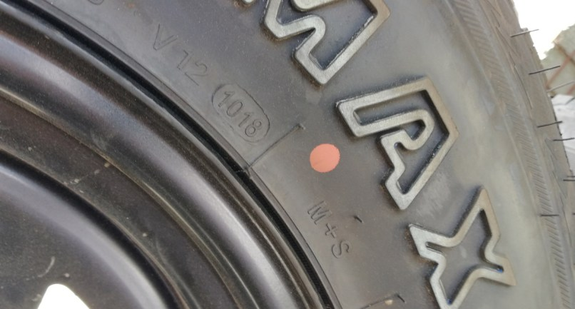 Tip Sheet Yellow Dots On New Tires