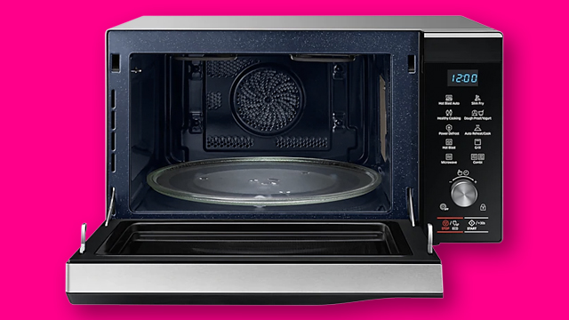 samsung microwave smart oven features