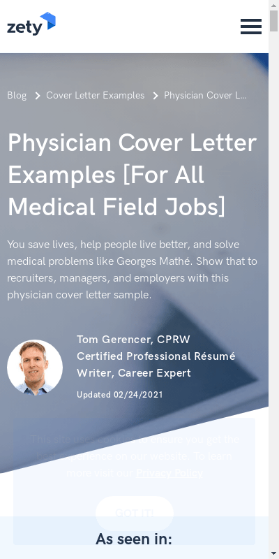Internal Medicine Cover Letter Sample 20 Guides Examples