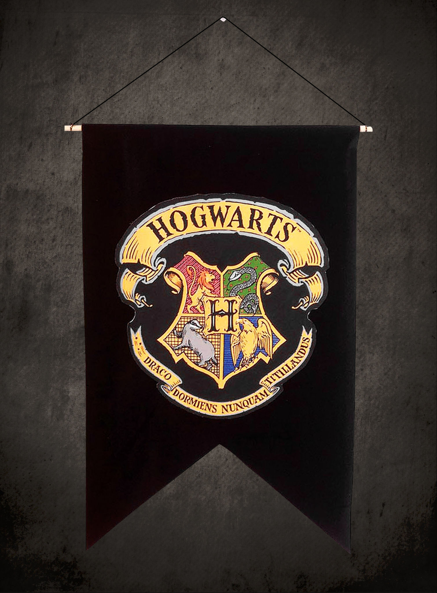 Hogwarts Banner Official Replica From The Harry Potter