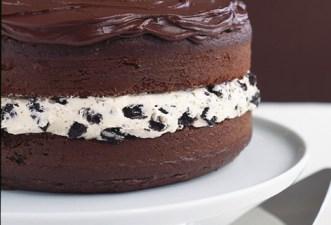 Chocolate-Covered OREO Cookie Cake Recipe