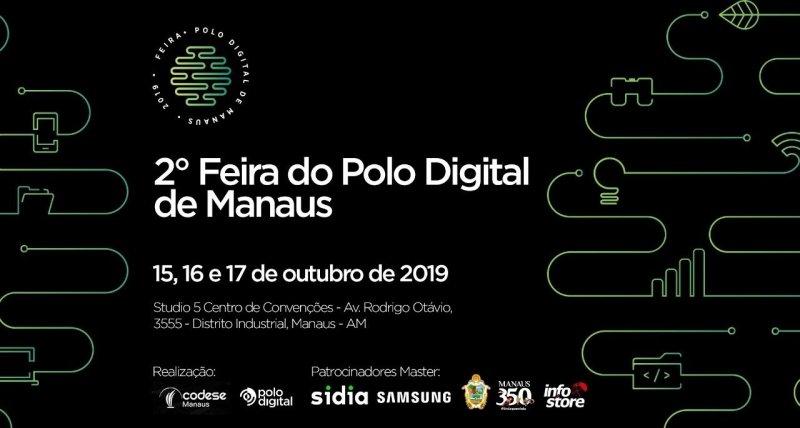 Resultado de imagem para 2ª Feira Polo Digital de Manaus