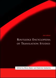 Routledge Encyclopedia of Translation Studies, 2nd Edition