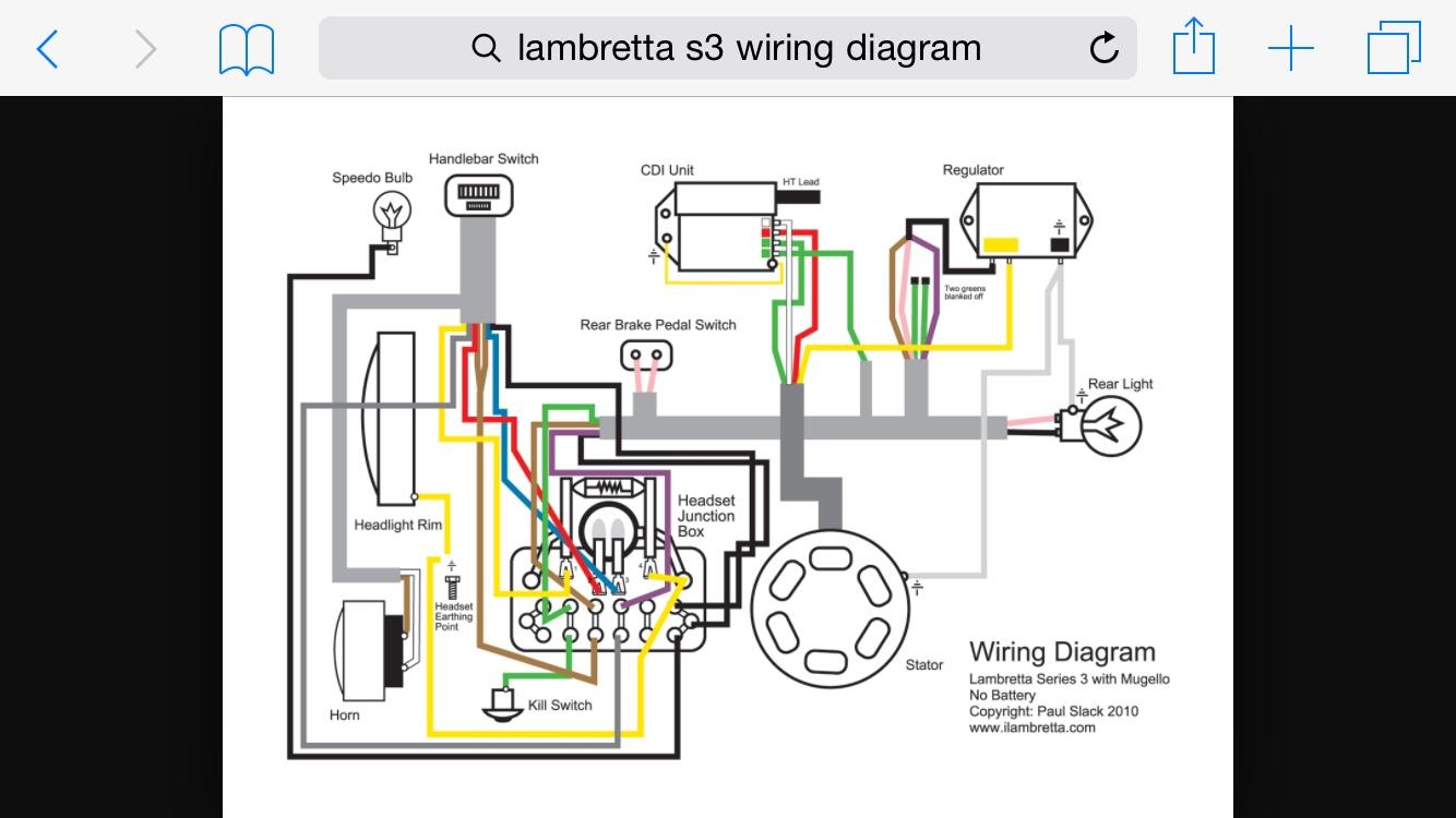lambretta ac wiring diagram free download wiring diagram xwiaw ac rh xwiaw us Sealed Beam Headlight Wiring Diagram lambretta gp headlight wiring diagram