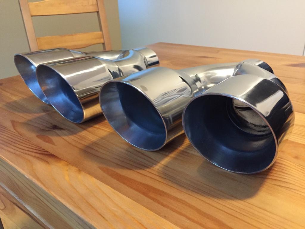 corsa clones dual exhaust tips cheap