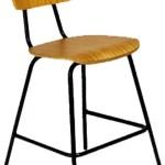 Cadeira Fixa Alta De Madeira Sem Bracos Alber Fort Modelo 90