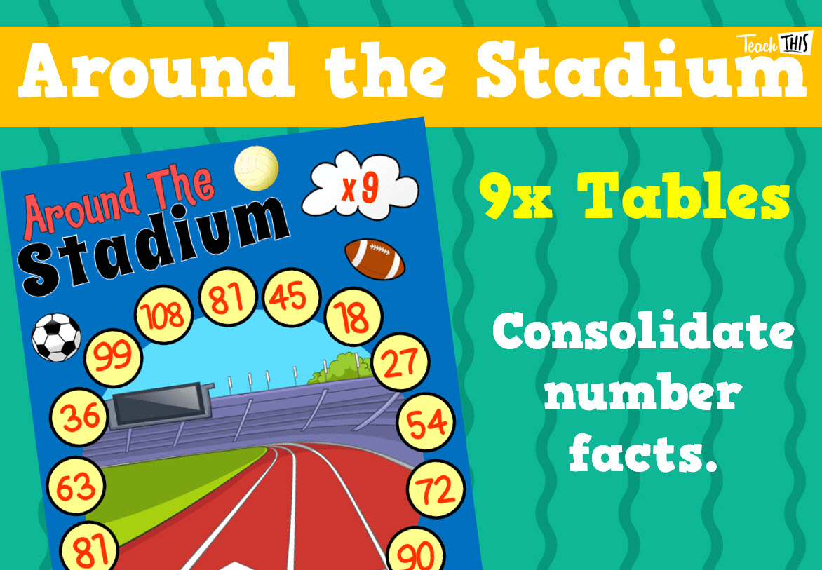 Around The Stadium 9x Tables Teacher Resources And Classroom Games Teach This