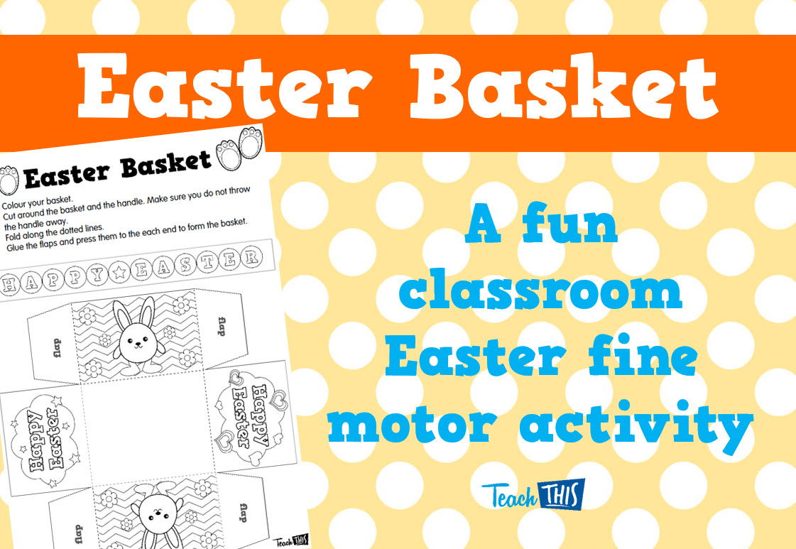Easter Basket Activity