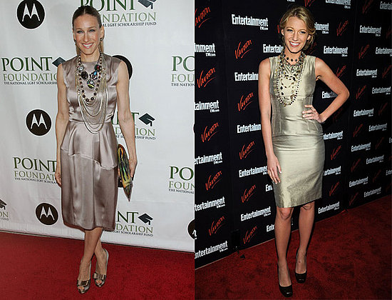 Blake Lively and Sarah Jessica Parker pile on the jewels