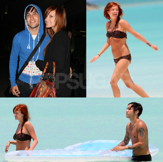 Ashley Simpson and Pete Wentz on their Honeymoon