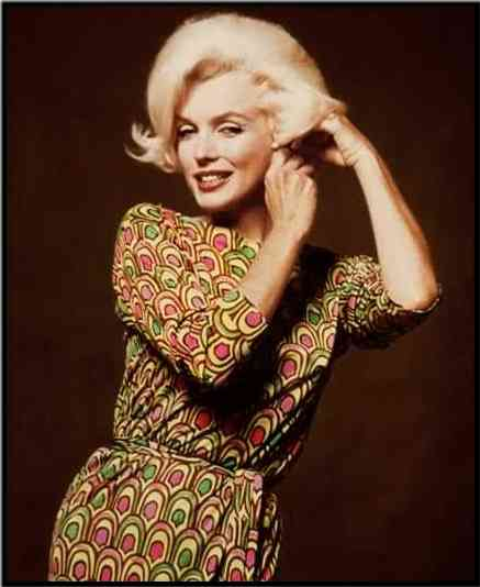 M wearing her Pucci dress.
