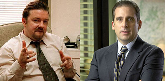 Image result for michael scott vs david brent