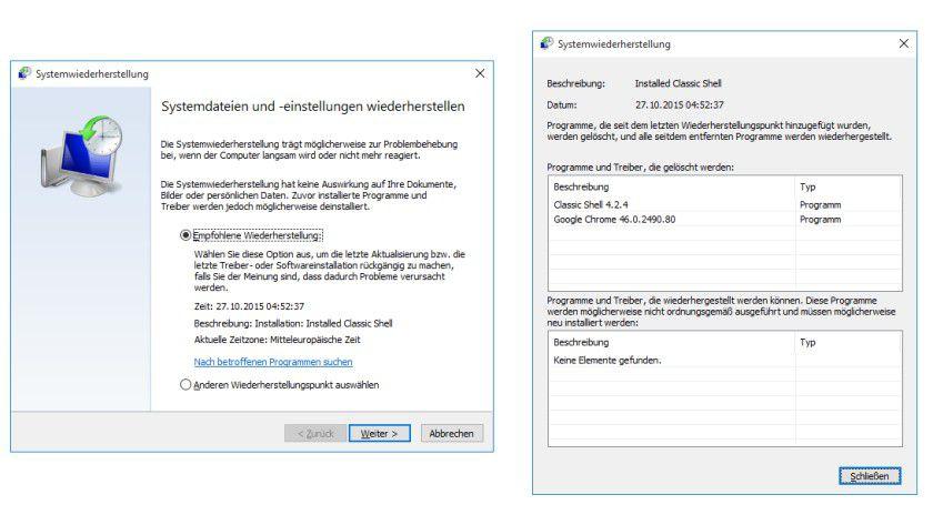 Systemreparatur Windows 10 Reparieren Mit Systemeigenen Tools Tecchannel Workshop