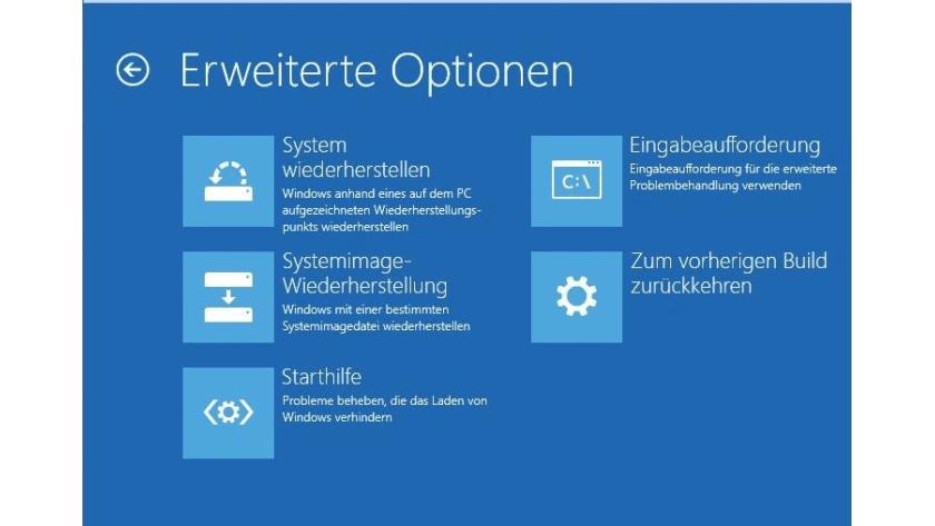 Windows 10 Rettungsmedien Recovery Stick Und Recovery Cd Unter Windows 10 Erstellen Tecchannel Workshop
