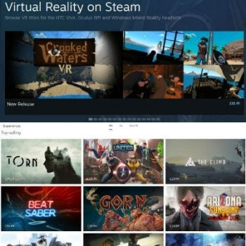 VR Content Libraries Steam and Oculus