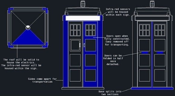 This Guy Wants To Build A TARDIS For A Good Cause And You
