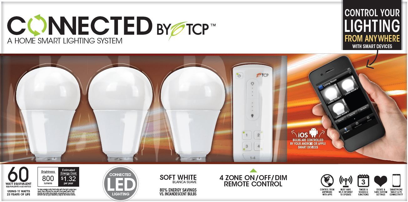 connected by tcp review smart lighting