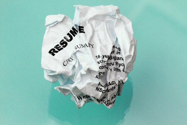How to fix a flaw that afflicts almost every CIO resume   CIO resume crumpled