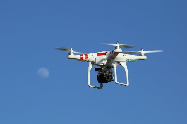 drone with gopro digital camera mounted underneath   22 april 2013