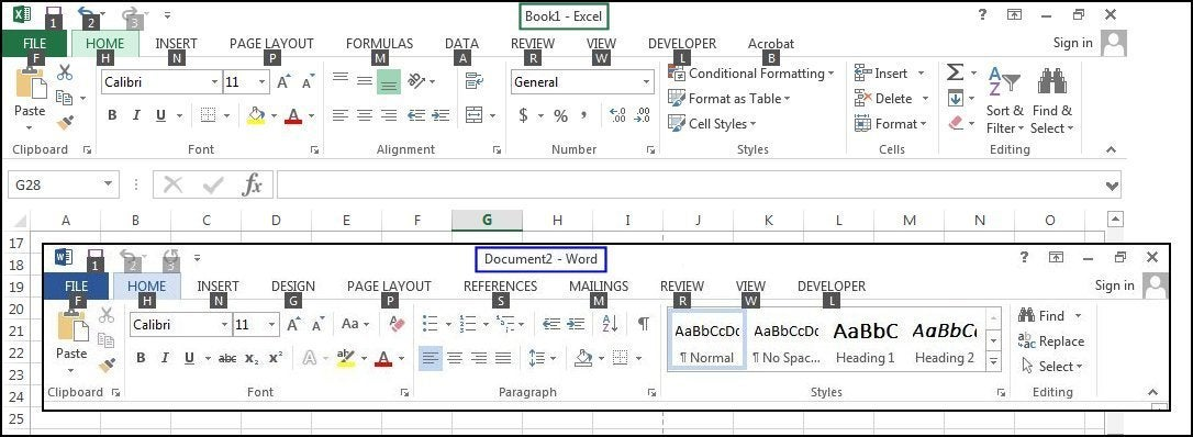 The Top 10 Keyboard Shortcuts In Word And Excel That Help