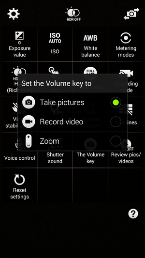 note4tips volumecamerakeys