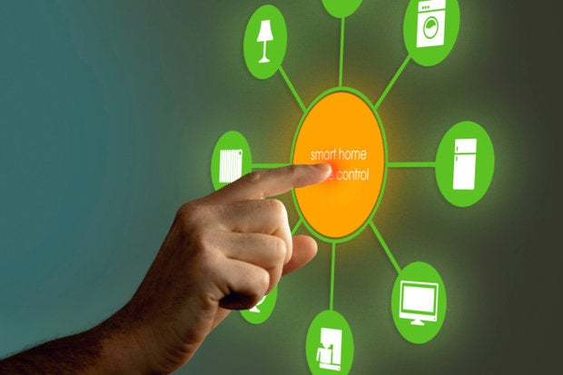 internet of things control touch user
