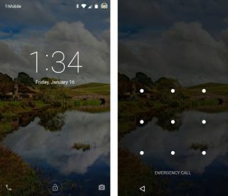 Android 5.0 Lollipop - Lock Screen Steps
