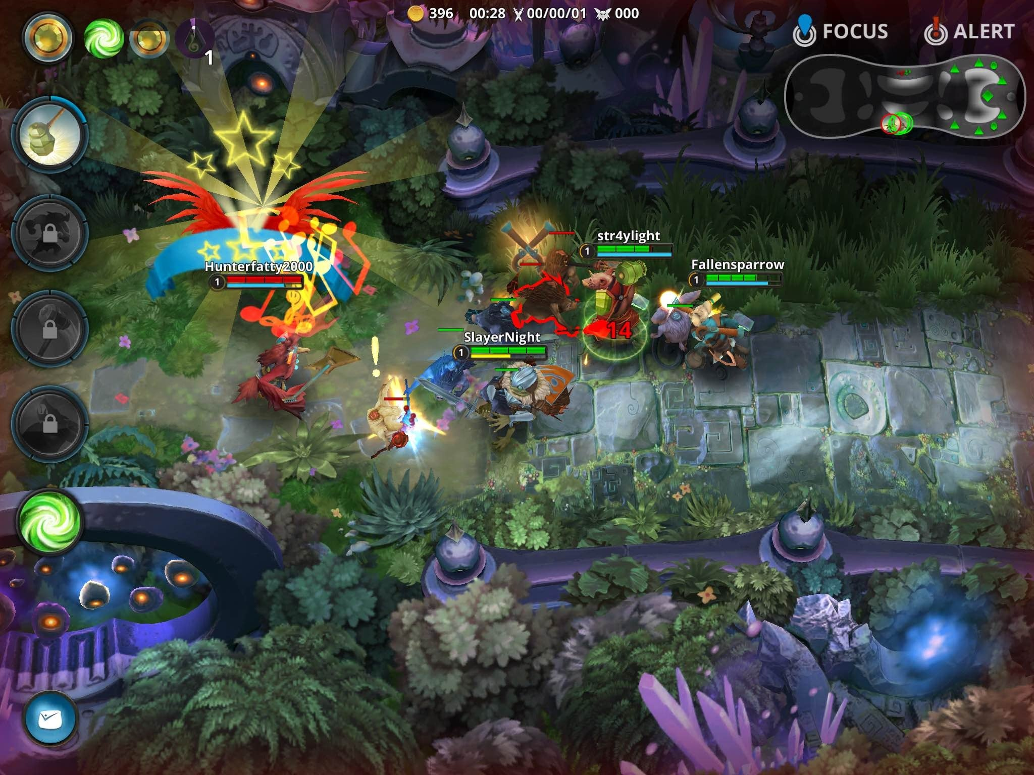 MOBA gone mobile  iPad and iPhone games that deliver a League of     Fates Forever has more of an ethereal  cartoon tinged look to it  and it  makes for a really inviting   and even slightly offbeat   MOBA experience