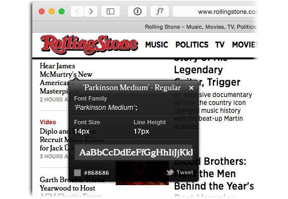 Rolling Stone font