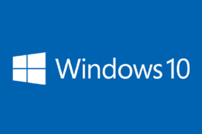 windows 10 logo blue
