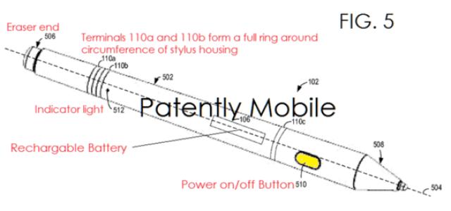 surface pen patent