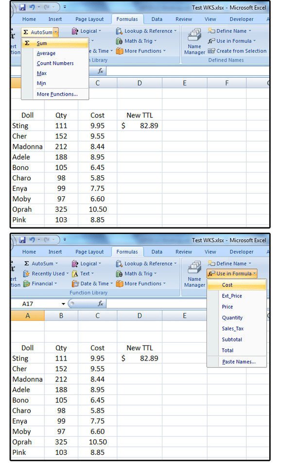 Excel Pro Tips How To Create Define And Use Named