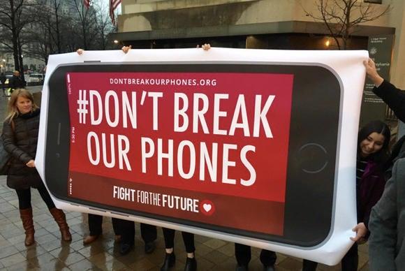 fftf fbi protest dc primary
