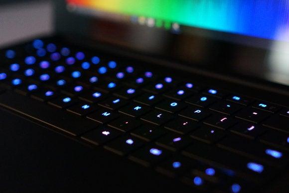 Razer Blade Stealth Ultrabook Keyboard View