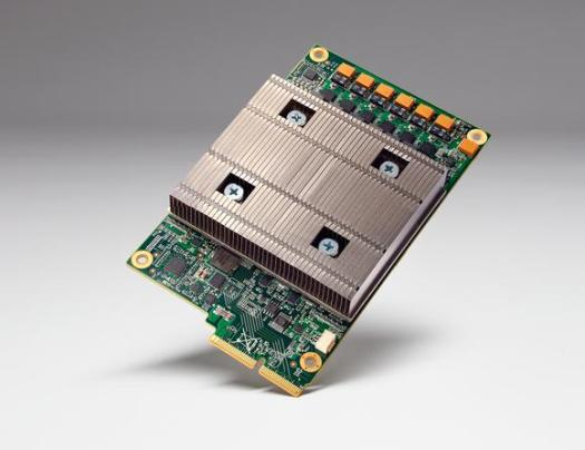 A Google Tensor Processing Unit.
