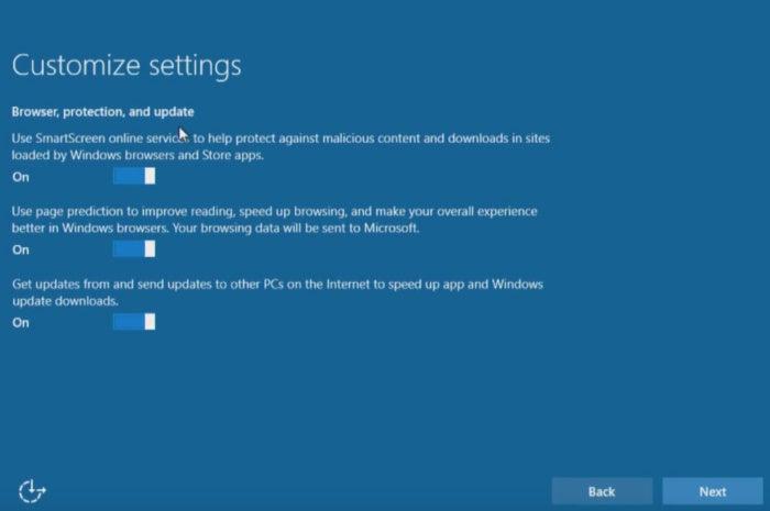 windows 10 εγκαταστήσετε προσαρμόσετε τις ρυθμίσεις του προγράμματος περιήγησης του προγράμματος περιήγησης