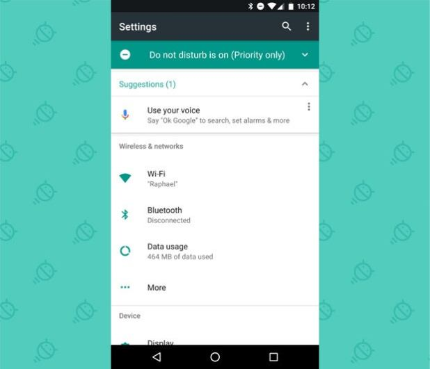 Android 7.0 Nougat - System Settings