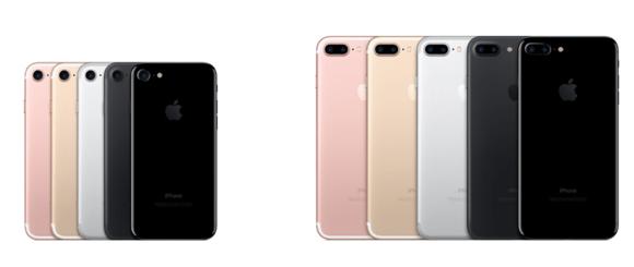iphone7 7plus compare