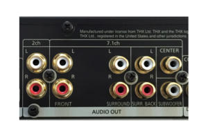 analog audio outputs