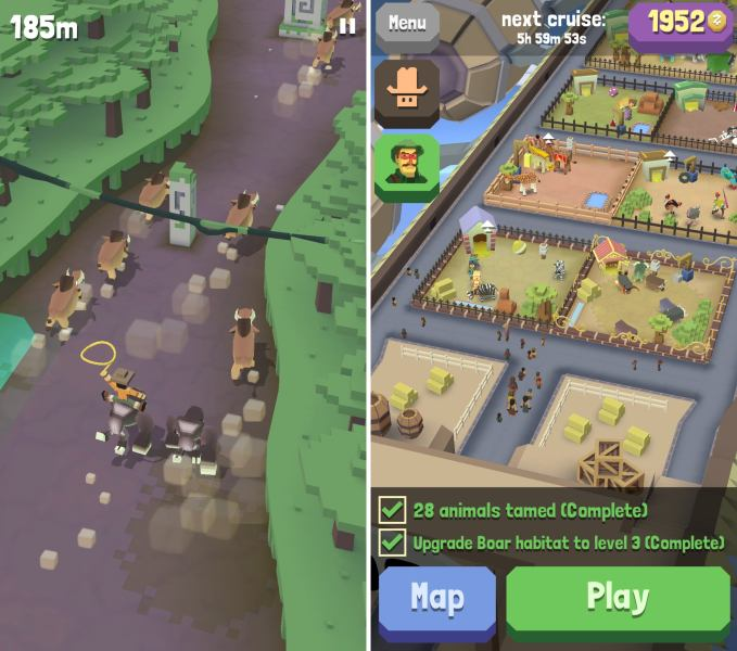 The 20 best iOS games of 2016   Macworld best ios games 2016 rodeostampede  See larger image