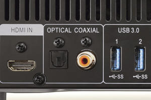 optical and coaxial outputs