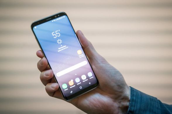 Samsung's Galaxy S8 and S8+ smartphones