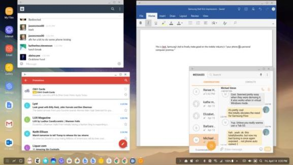 samsung dex desktop 2