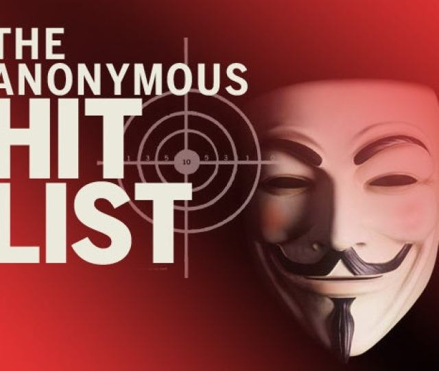 The Favorite Targets Of Anonymous